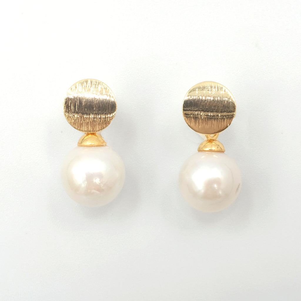 Holly Pearl Earrings - Aniya Jewellery