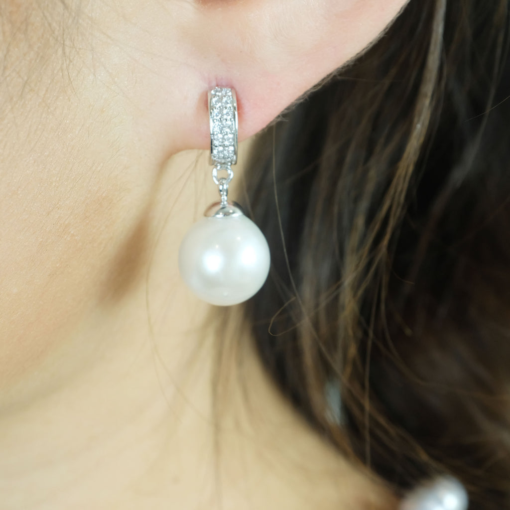 Little Harriet Pearl Earrings - Aniya Jewellery
