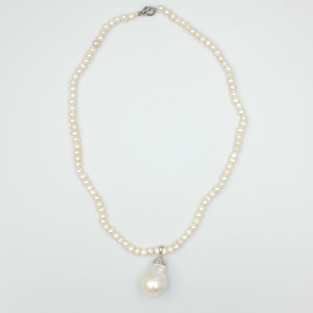 Layla Baroque Pearl Necklace - Aniya Jewellery