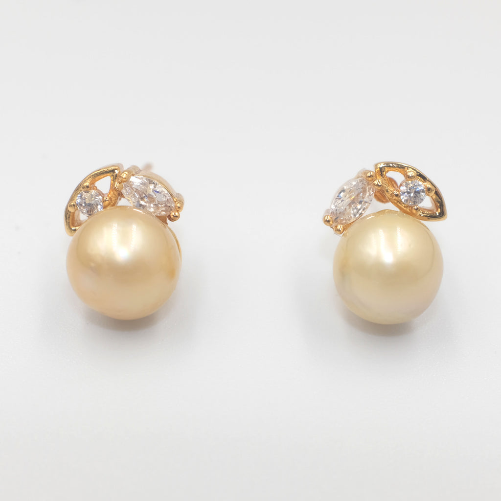 Oriel South Sea Pearl Earrings - Aniya Jewellery