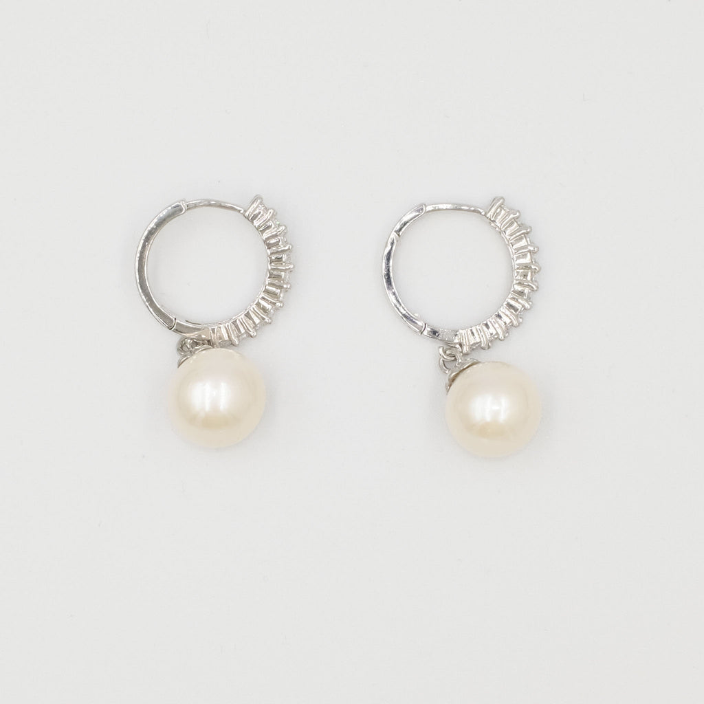 Emile Baroque Pearl Earrings - Aniya Jewellery