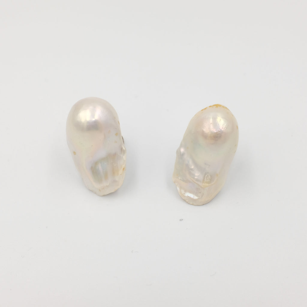 Baroque Pearl Stud Earrings - Aniya Jewellery
