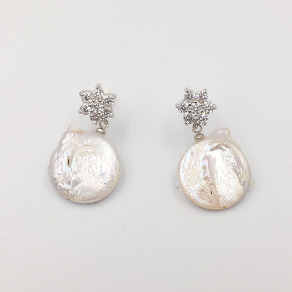 Forme de pièce Earrings - Aniya Jewellery
