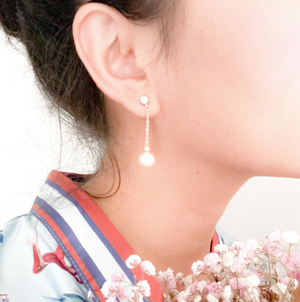 Cosette Pearl Earrings