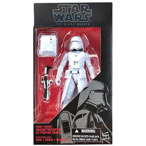 Star Wars The Black Series 6 Inch - First Order Snowtrooper - funky-toys-company