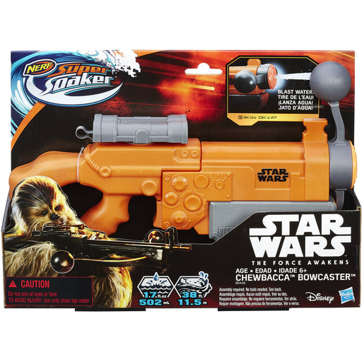Nerf Star Wars Chewbacca Bowcaster Super Soaker - funky-toys-company