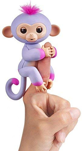 Fingerlings - Baby Monkey (Sydney Purple) - Funky Toys