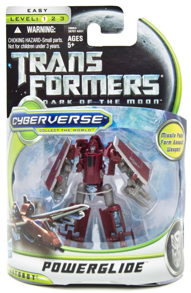 Transformers Dark of the Moon Cyberverse - Powerglide - Funky Toys