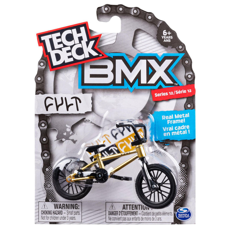 Tech Deck BMX Finger Bike Series 13 - Cult Gold/Black - Funky Toys