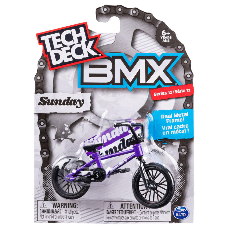 Tech Deck BMX Finger Bike Series 13 - Sunday Purple/Black - Funky Toys