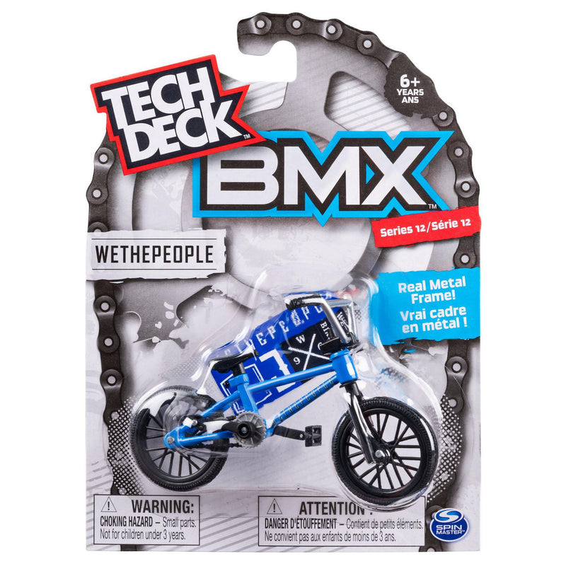 Tech Deck BMX Finger Bike Series 13 - Wethepeople Blue/Black - Funky Toys