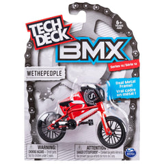 Tech Deck BMX Finger Bike Series 13 - Wethepeople Red/Black - Funky Toys