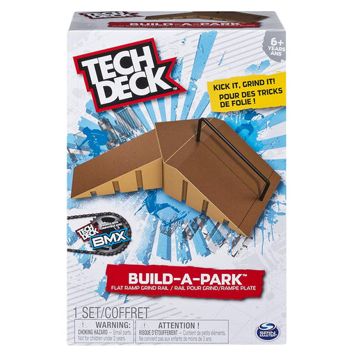Tech Deck - Build-A-Park - Flat Ramp Grind Rail