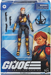 GI  Joe Classified Series - Scarlett - Funky Toys