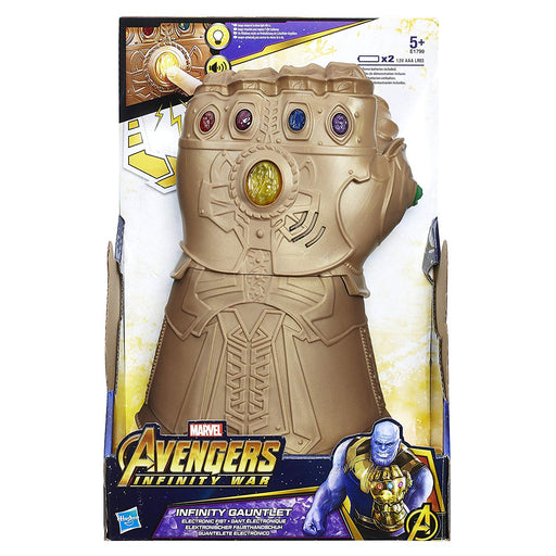 Marvel - Avengers: Infinity War Infinity Gauntlet Electronic Fist - funky-toys-company