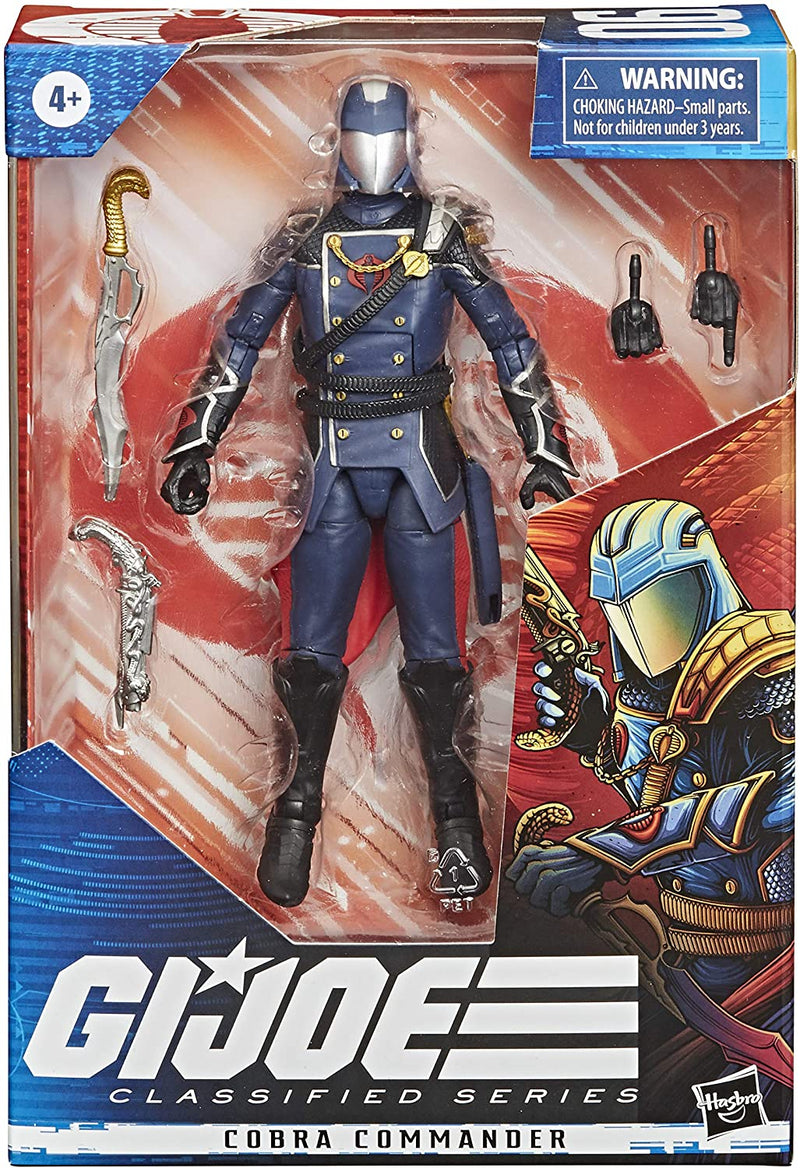 GI Joe Classified Series - Cobra Commander - Funky Toys