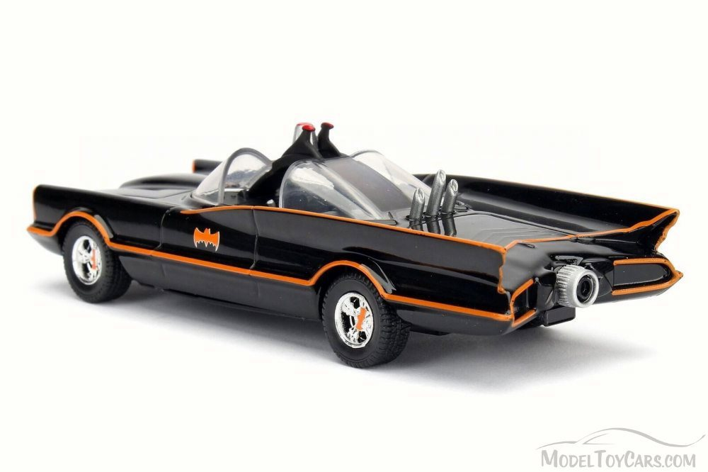 Jada 1:24 Die-Cast Hollywood Rides - DC Comics Batman Classic TV Series (1966) Batmobile - funky-toys-company