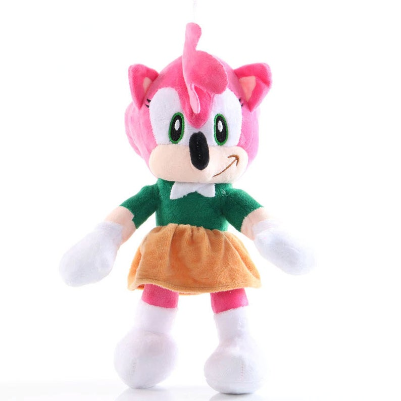 Sonic the Hedgehog 10 inch Plush Toy - Amy Rose - Funky Toys