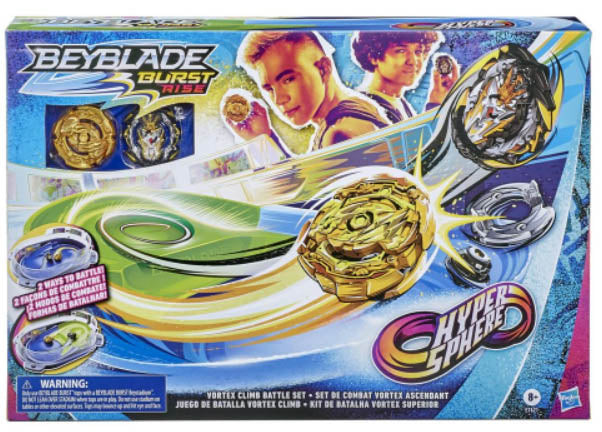 Beyblade Burst Rise Hypersphere Vortex Clime Battle Set