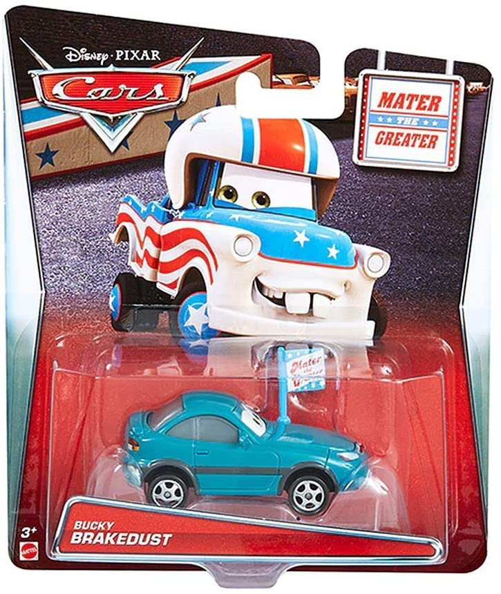 Disney Cars Die-Cast 1:55 - Mater's Tall Tales Bucky Brakedust - Funky Toys