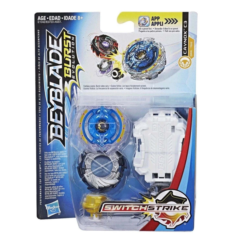 Beyblade Burst Evolution SwitchStrike Starter Pack - Caynox C3 - funky-toys-company
