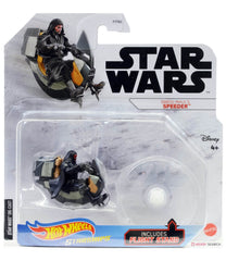 Hot Wheels Die-Cast Star Wars Starships - Darth Maul's Speeder - Funky Toys