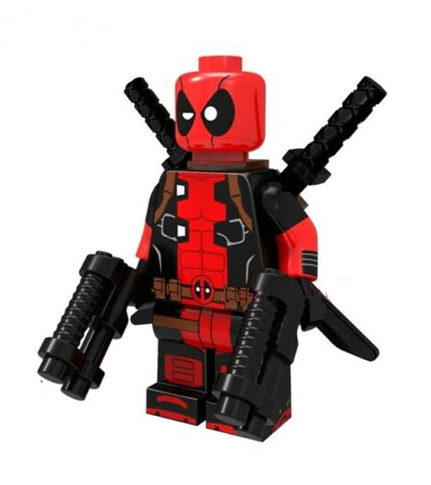 Minifigure - Marvel - Deadpool - funky-toys-company