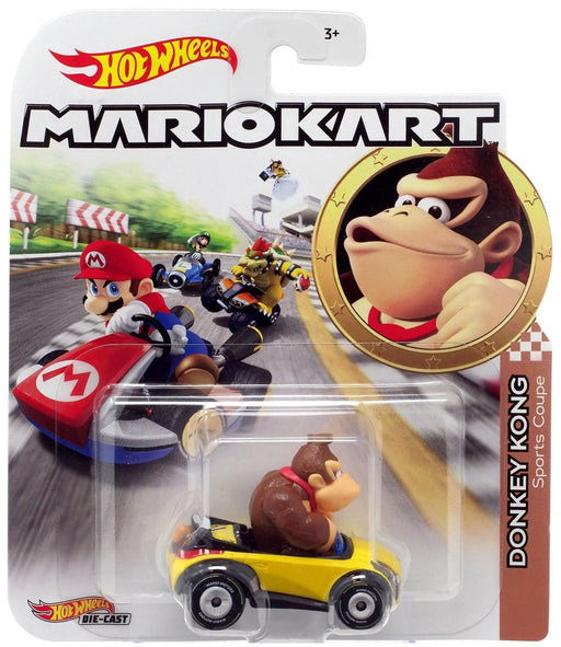 Hot Wheels Die-Cast 1/64 Mario Kart - Donkey Kong