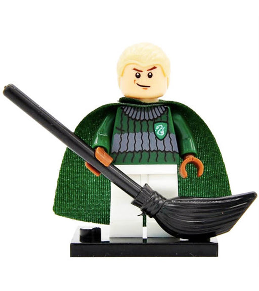 Minifigure - Harry Potter - Draco Malfoy Quidditch - funky-toys-company