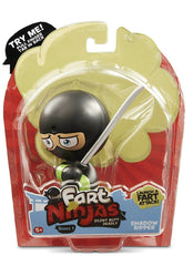 Fart Ninja - Shadow Ripper (Black/Green) - Funky Toys