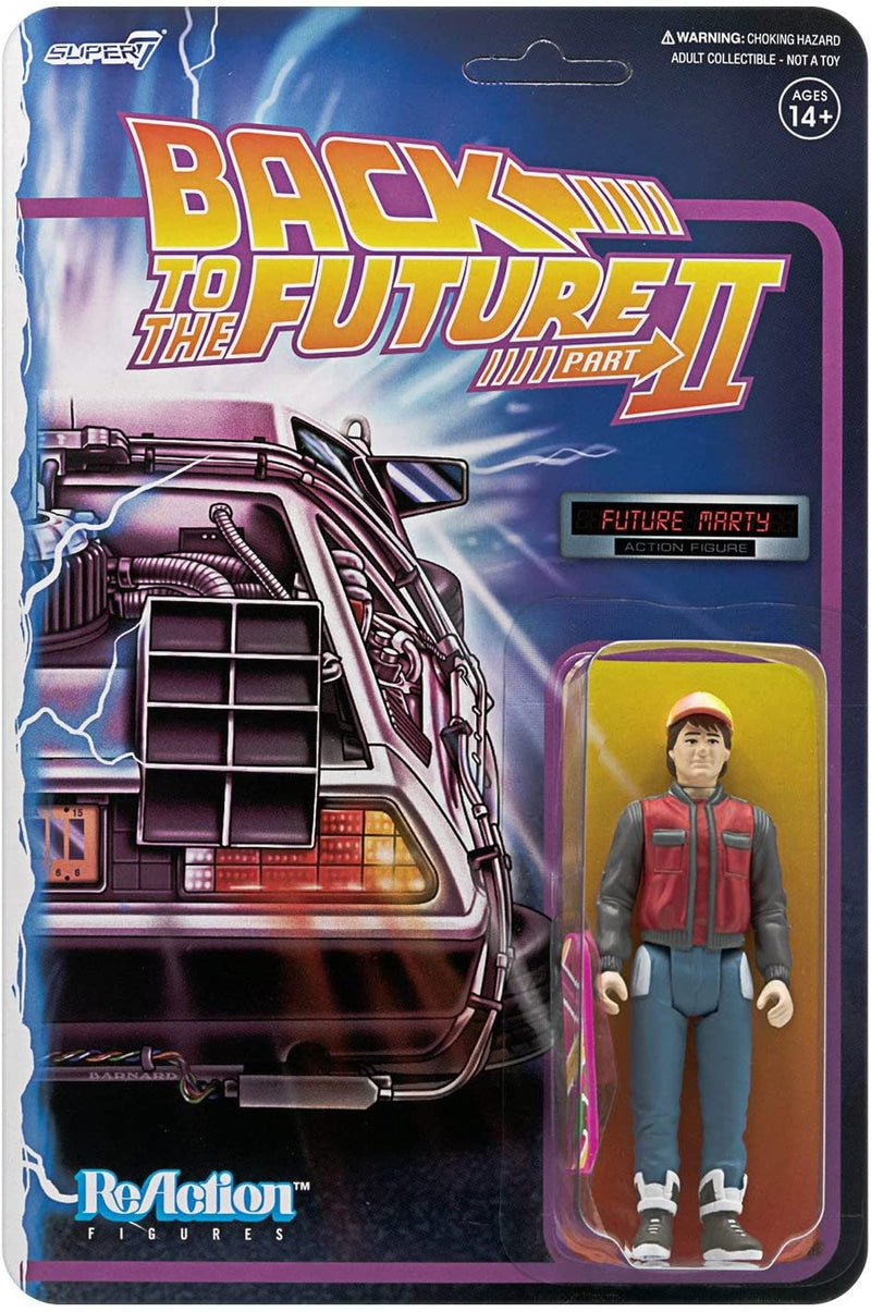 Super7 Back to The Future 2 Future Marty 3¾ Action Figure - Funky Toys