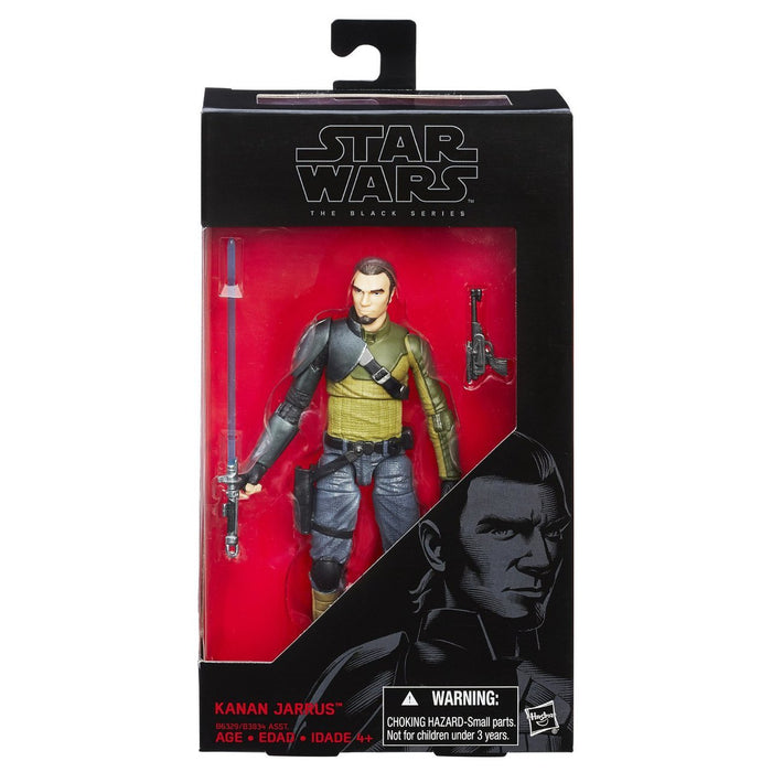 Star Wars The Black Series 6 Inch - Kanan Jarrus - funky-toys-company