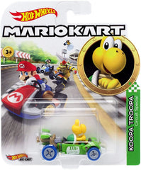 Hot Wheels Die-Cast 1/64 Mario Kart - Koopa Troopa - Funky Toys
