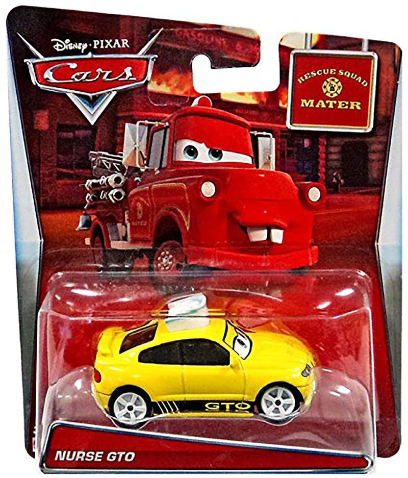 Disney Cars Die-Cast 1:55 - Mater's Tall Tales Nurse GTO - Funky Toys
