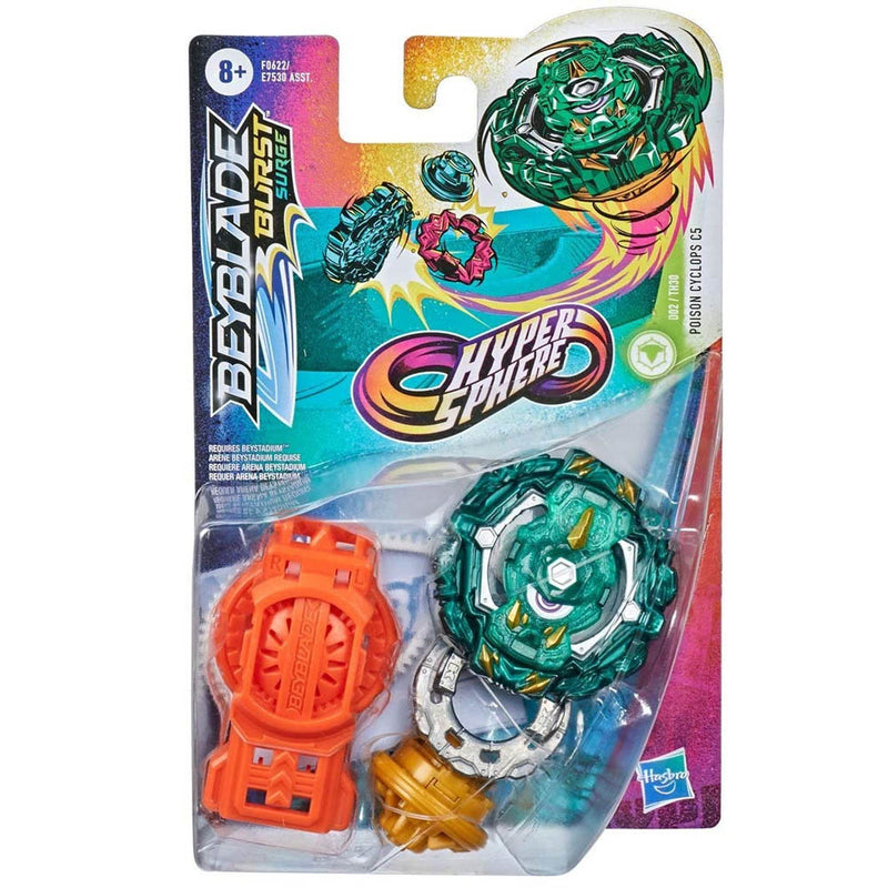 Beyblade Burst Rise Hypersphere - Poison Cyclops C5 - Funky Toys
