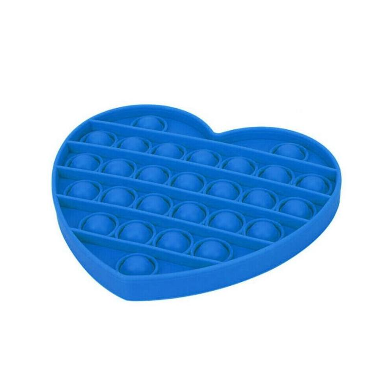 Pop Bubble Fidget - Heart Blue - Funky Toys