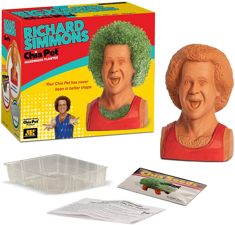 Chia Pet - Richard Simmons - Funky Toys