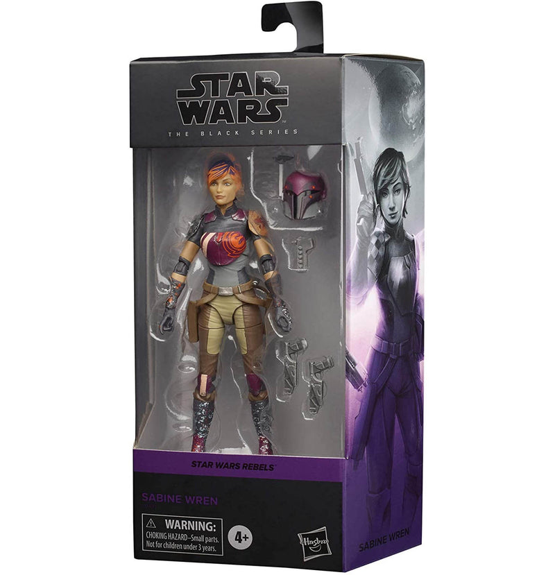Star Wars The Black Series 6 Inch - Sabine Wren - Funky Toys
