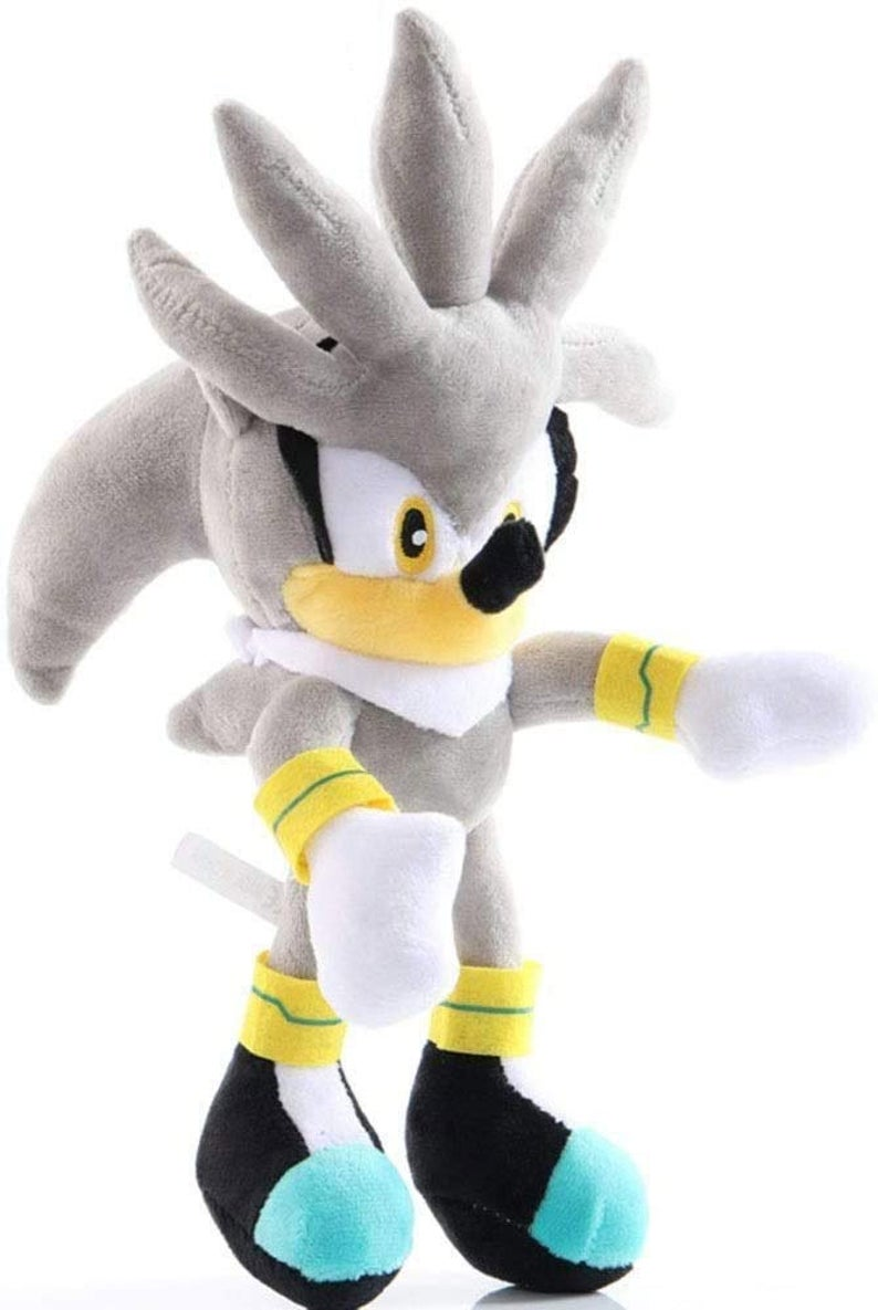 Sonic the Hedgehog 10 inch Plush Toy - Silver Sonic - Funky Toys