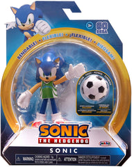 Sonic the Hedgehog 4 inch Action Figure - Sonic With Soccer Ball - Funky Toys
