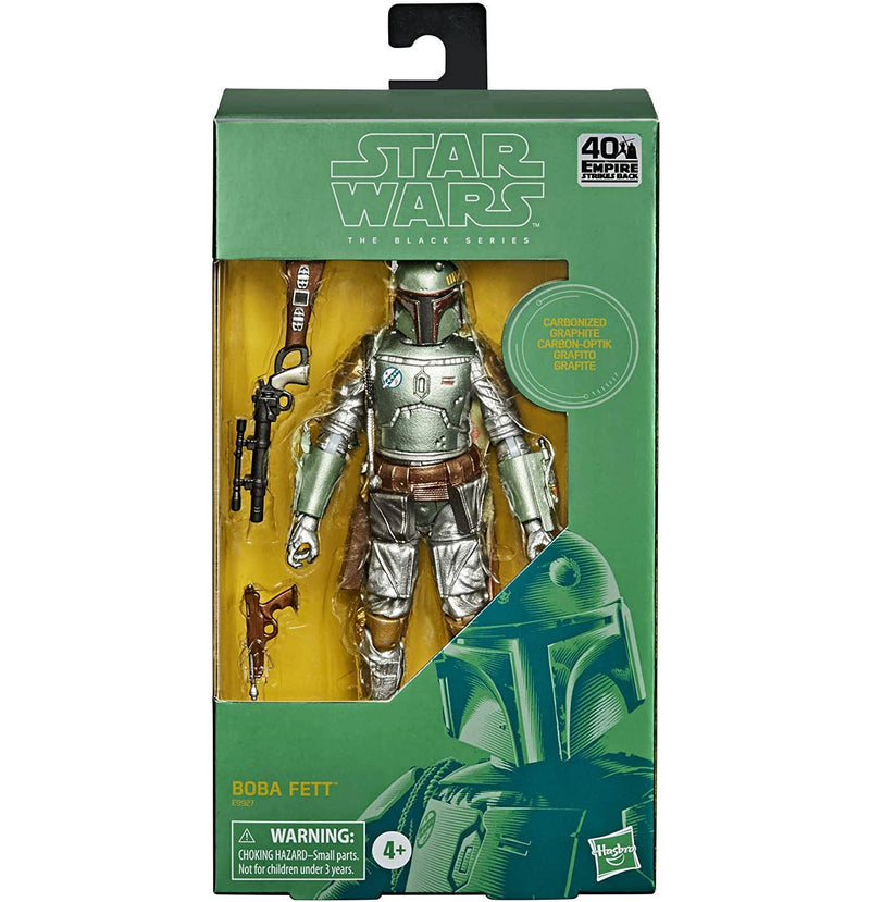 Star Wars The Black Series 6 Inch - Carbonized Boba Fett - Funky Toys