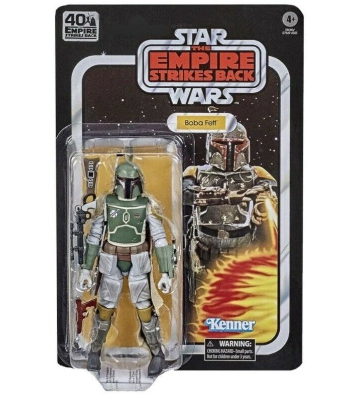 Star Wars The Empire Strikes Back 40th Anniversary 6 inch Figure - Boba Fett - Funky Toys