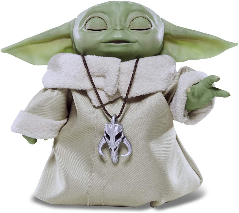 Star Wars The Child Animatronic with Over 25 Sound and Motions Combination Baby Yoda - Funky Toys