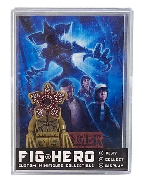 FIGHERO - Demogorgon Stranger Things - Custom Minifigure w/ Card & Display