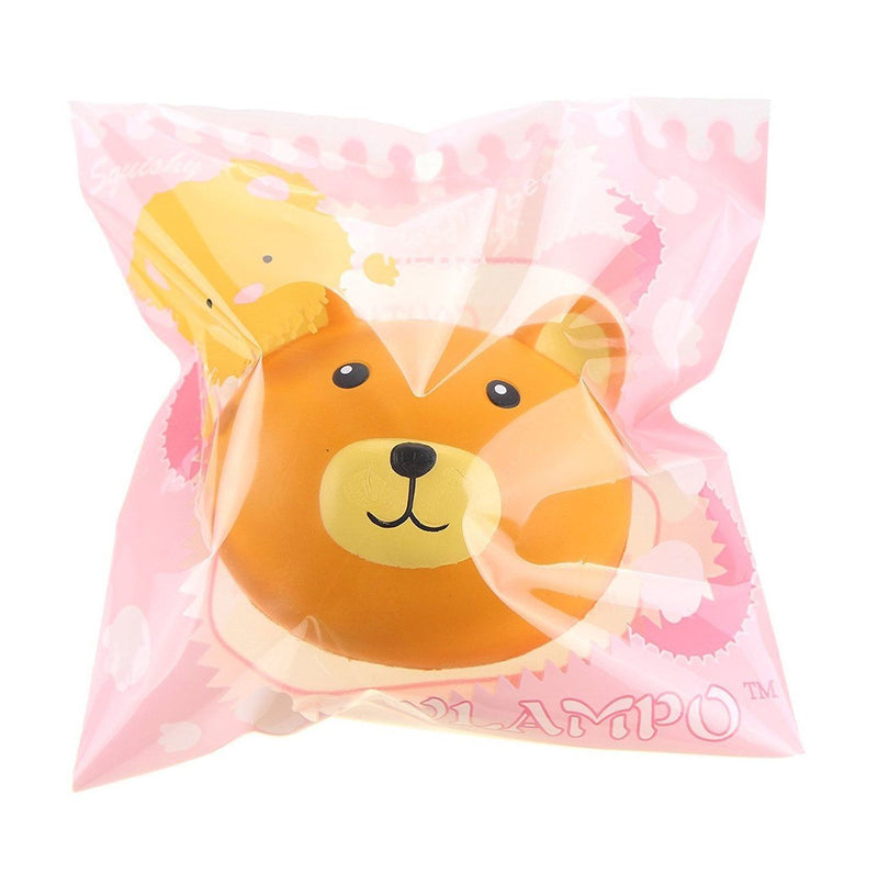 Medium Squishy Soft & Slow Rising - Vlampo Teddy Bear (Scented) - Funky Toys