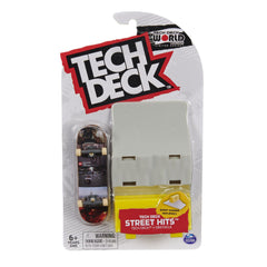 Tech Deck World Edition Street Hits - Hopps with Jersey Barrier - Funky Toys