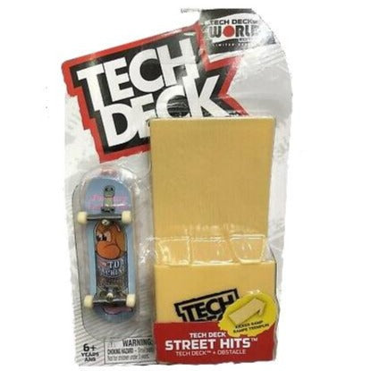 Tech Deck World Edition Street Hits - Toy Machine
