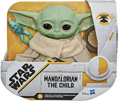 Star Wars The Child Talking Plush Toy with Sounds Baby Yoda Mandalorian - Funky Toys