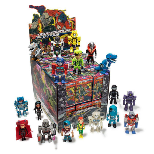 "Kidrobot Transformers vs. GI Joe 3"" Blind Box Mini Series - funky-toys-company"