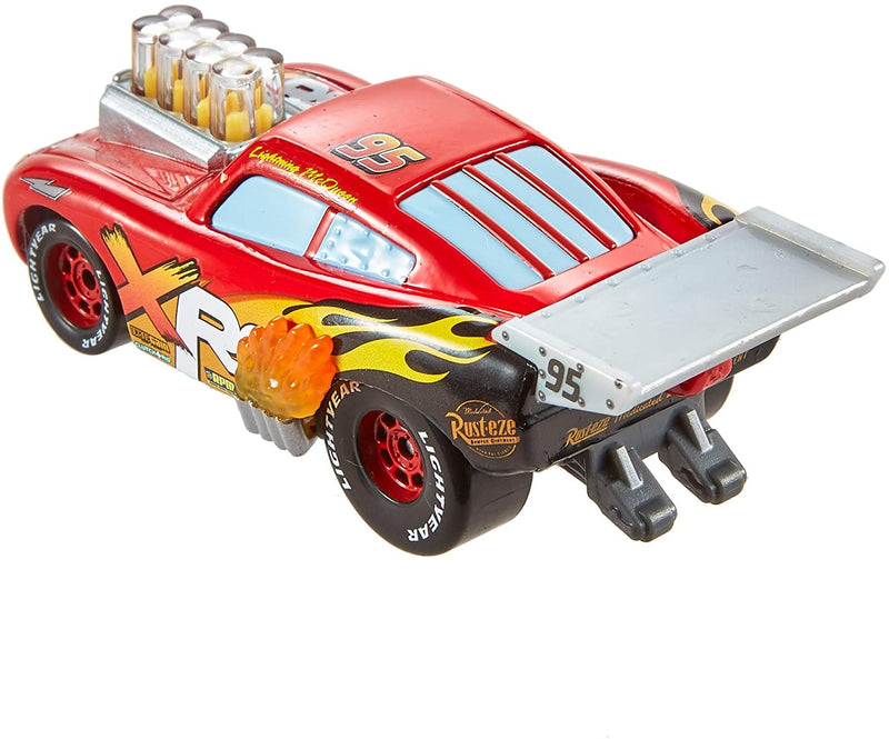 Disney Cars Die-Cast 1:55 - XRS Drag Racing - Lightning McQueen - Funky Toys